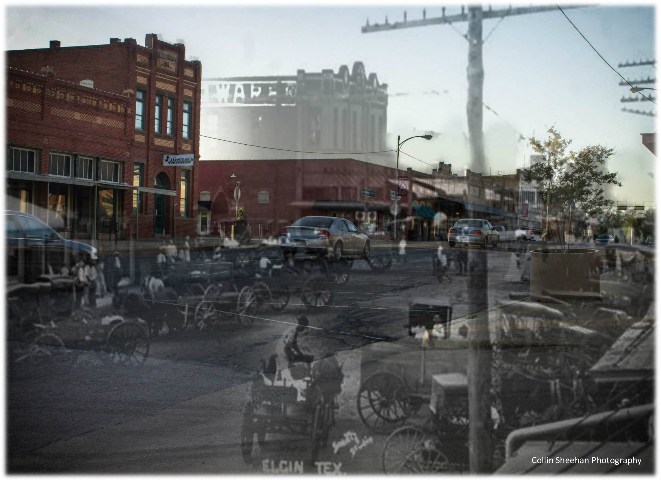 Downtown Then n Now - Collin Sheehan Photography
