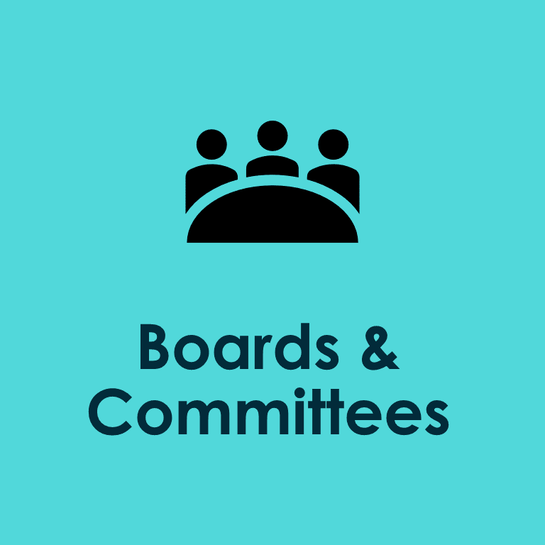 Boards and Committees