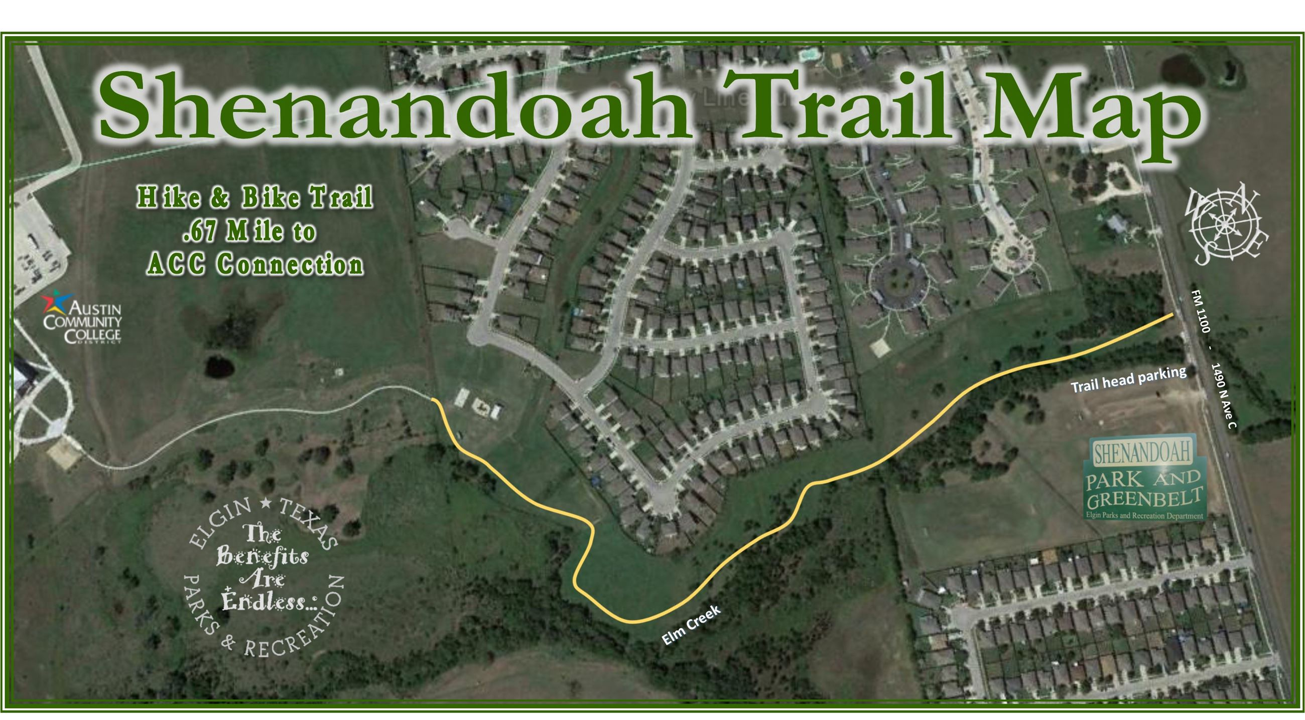 Shenandoah Trail Map