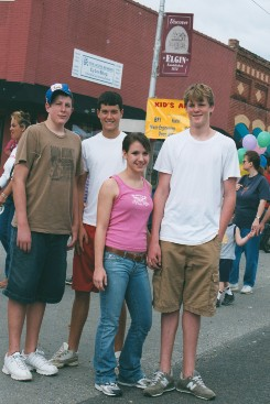 Teenagers at Hogeye Festival